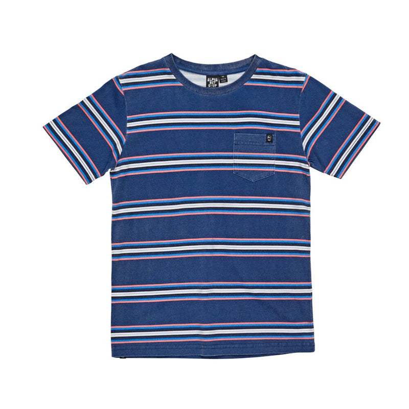 Alphabet Soup Vintage Stripe T-Shirt - Threads for Boys