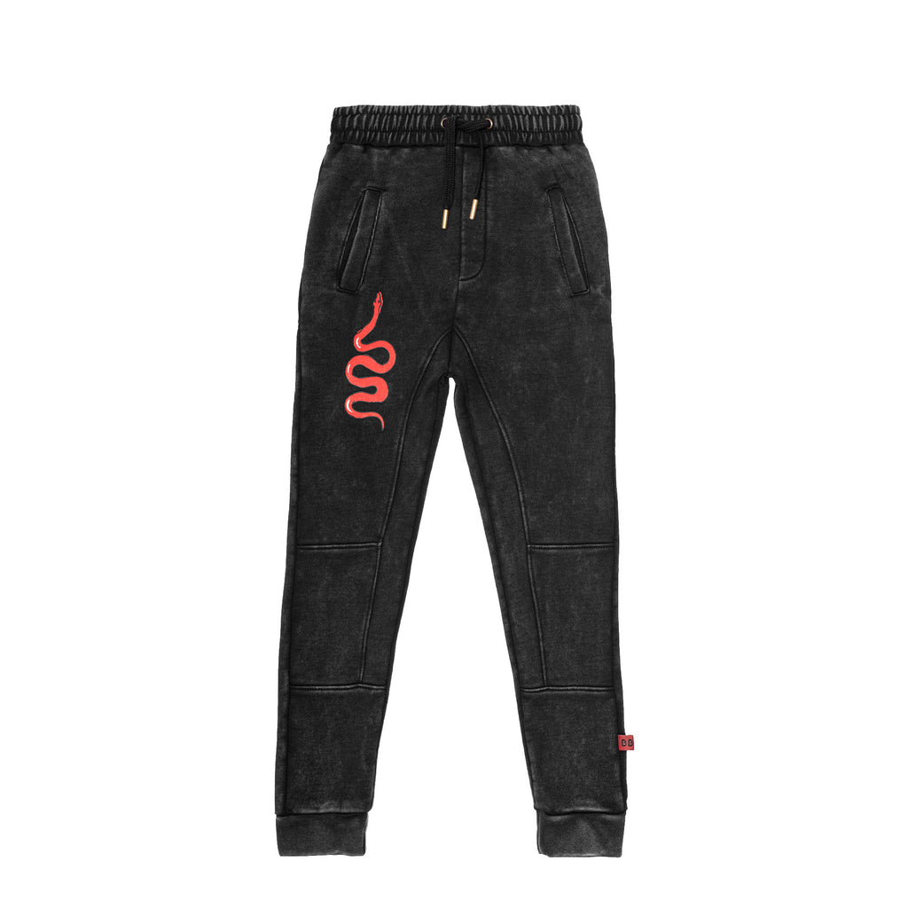 Band of Boys Red Viper Panel Trackies