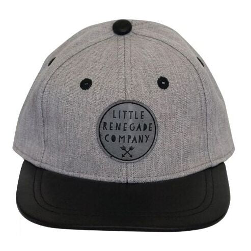 Wolf Grey Cap - Threads for Boys