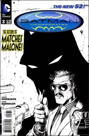 BATMAN INCORPORATED VOL 2 #3 BLACK & WHITE VAR ED