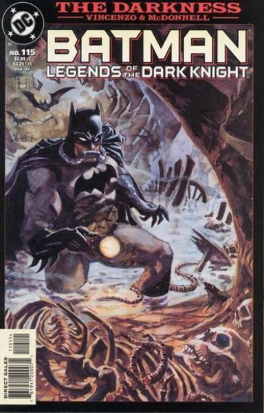 BATMAN LEGENDS OF THE DARK KNIGHT #115