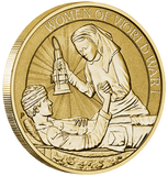 WOMEN IN WAR 2017 STAMP AND COIN COVER