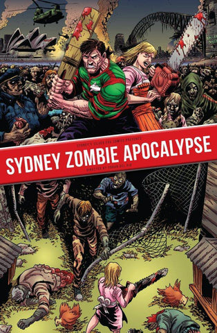BAZZA THE BOGAN BARBARIAN SYDNEY ZOMBIE APOCALYPSE