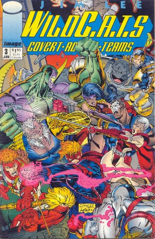 WILDC.A.T.S COVERT ACTION TEAMS #3 (1992)