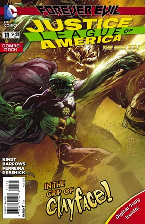 JUSTICE LEAGUE OF AMERICA VOL 3 #11 COMBO PACK (EVIL)