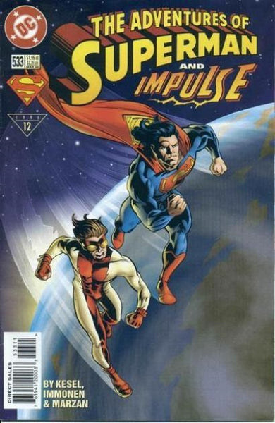 ADVENTURES OF SUPERMAN #533