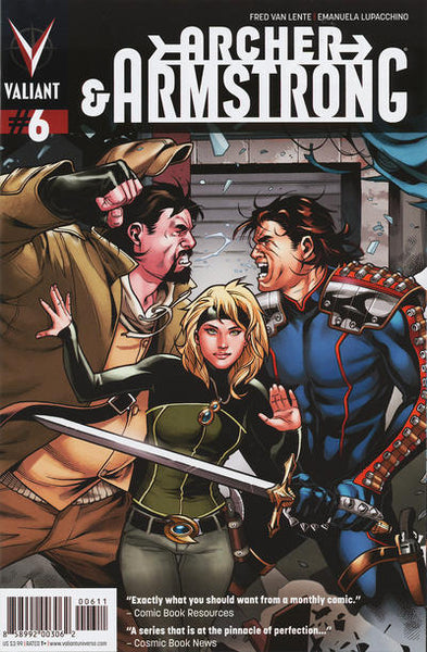 ARCHER & ARMSTRONG VOL 2 #6 - Kings Comics
