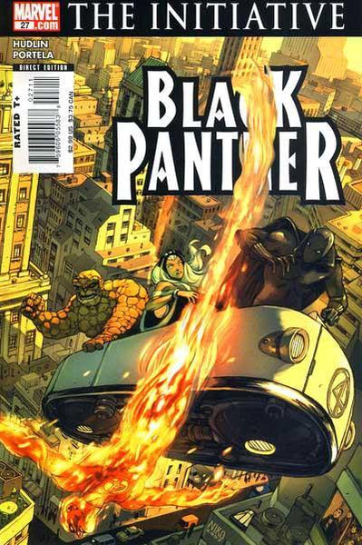 BLACK PANTHER VOL 4 #27 CWI