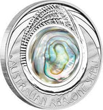 AUSTRALIAN ABALONE SHELL 2014 1OZ SILVER PROOF COIN - Kings Comics