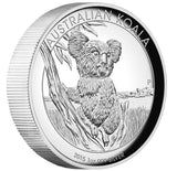 AUSTRALIAN KOALA 2015 1OZ SILVER PROOF HIGH RELIEF COIN
