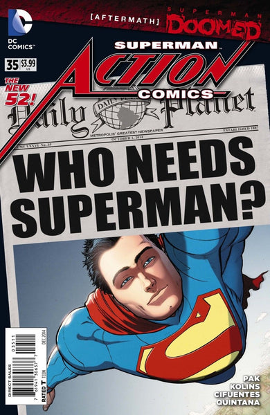 ACTION COMICS VOL 2 #35 (DOOMED)