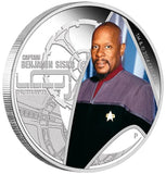 STAR TREK: DEEP SPACE NINE – CAPTAIN BENJAMIN SISKO 2015 1OZ SILVER PROOF COIN