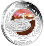 STAR TREK: ENTERPRISE - ENTERPRISE NX-01 2015 1OZ SILVER PROOF COIN