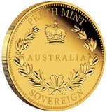 AUSTRALIAN SOVEREIGN 2016 GOLD PROOF COIN