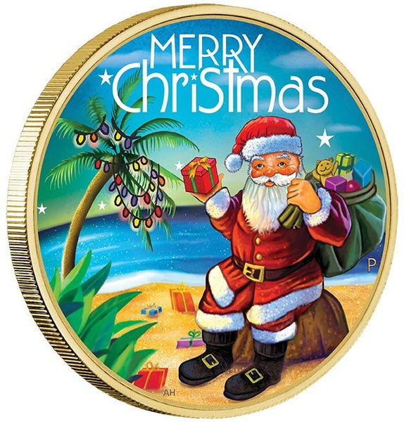 CHRISTMAS 2015 STAMP & COIN COVER