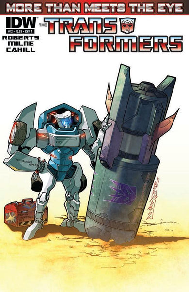 TRANSFORMERS MORE THAN MEETS EYE #12