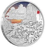 ANZAC SPIRIT 100TH ANNIV COIN SERIES – MANY NEVER RETURNED 2017 1oz SILVER PROOF COIN - Kings Comics