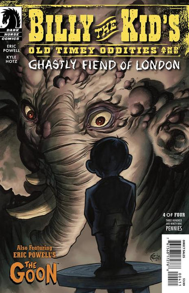 BILLY THE KID GHASTLY FIEND LONDON #4 ERIC POWELL CVR