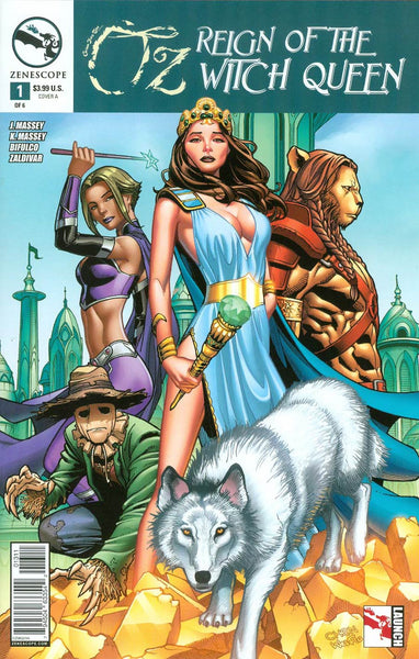 GFT OZ REIGN OF WITCH QUEEN #1 - Kings Comics