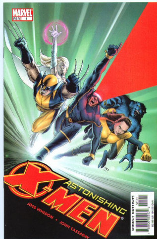 ASTONISHING X-MEN VOL 3 #1 TEAM VARIANT CASSADAY CVR