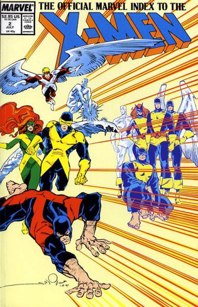 OFFICIAL MARVEL INDEX TO THE X-MEN (1987) #2 - Kings Comics