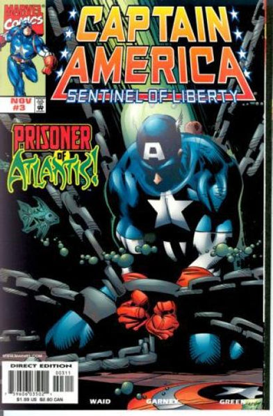 CAPTAIN AMERICA SENTINEL OF LIBERTY #3