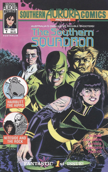 SOUTHERN AURORA COMICS PRESENTS THE SOUTHERN SQUADRON #1