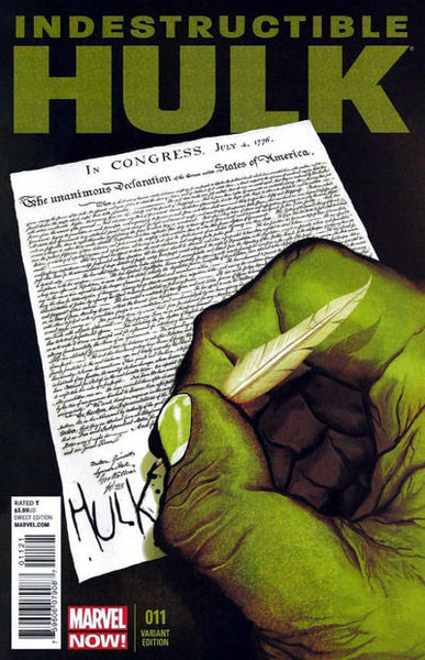 INDESTRUCTIBLE HULK #11 TIME TRAVEL VAR NOW - Kings Comics