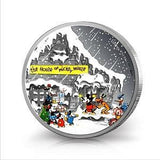 DISNEY CLASSIC SEASONS GREETINGS 2015 1oz SILVER PROOF COIN