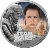 STAR WARS 2016 REY 1oz SILVER COIN - Kings Comics