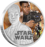 STAR WARS 2016 FINN 1oz SILVER PROOF COIN