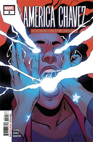 AMERICA CHAVEZ MADE IN USA #3 (ONE PER CUSTOMER)