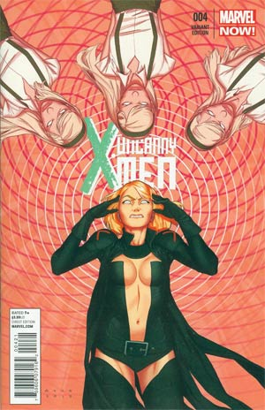 UNCANNY X-MEN VOL 3 #4 ANKA VAR NOW