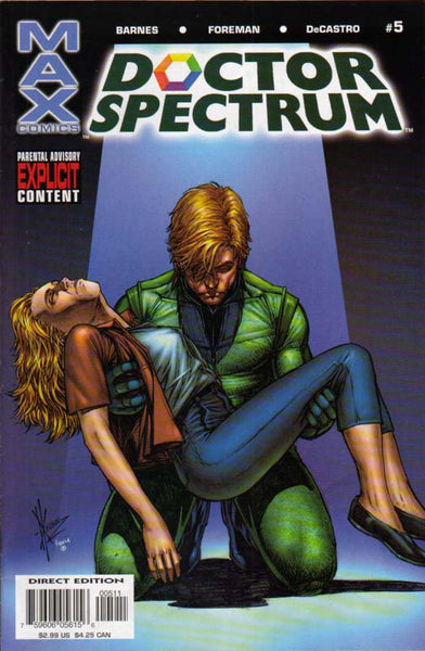 DOCTOR SPECTRUM #5 - Kings Comics