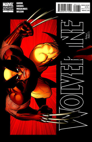 WOLVERINE VOL 4 #1 A ADAMS VAR