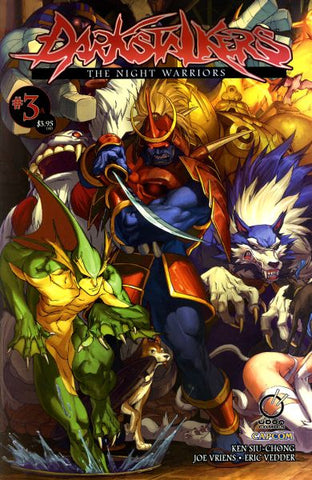 DARKSTALKERS NIGHT WARRIORS #3 A CVR LEE