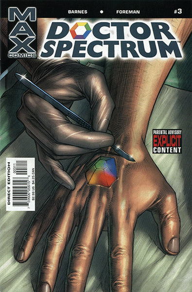 DOCTOR SPECTRUM #3 - Kings Comics