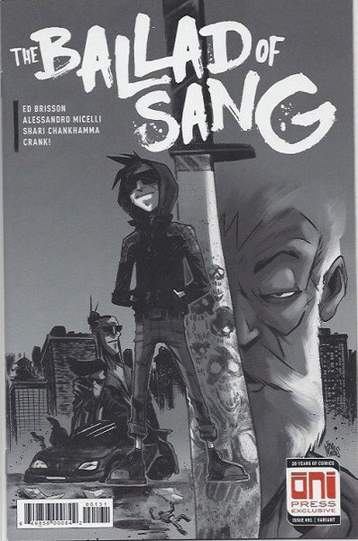 BALLAD OF SANG #1 BLACK AND WHITE VARIANT