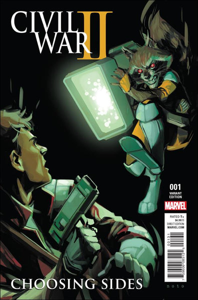 CIVIL WAR II CHOOSING SIDES #1 ROCKET STAR-LORD VAR - Kings Comics