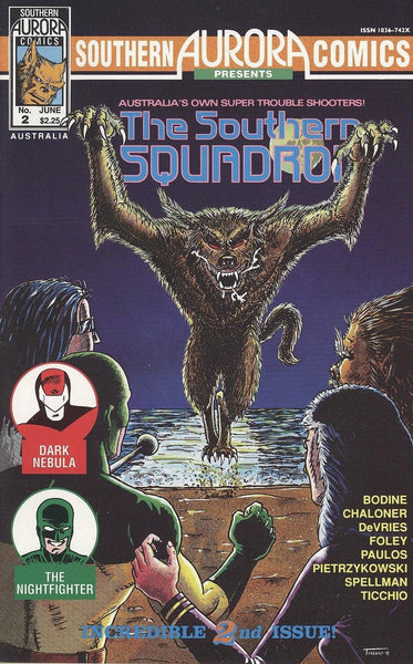 SOUTHERN AURORA COMICS PRESENTS THE SOUTHERN SQUADRON #2