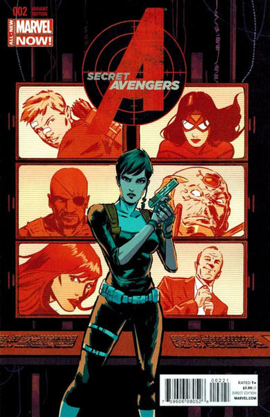 SECRET AVENGERS VOL 3 #2 WALSH VAR ANMN