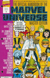 OFFICIAL HANDBOOK OF THE MARVEL UNIVERSE MASTER EDITION (1990) #19 - Kings Comics