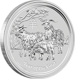 2015 LUNAR SET YEAR OF THE GOAT SILVER