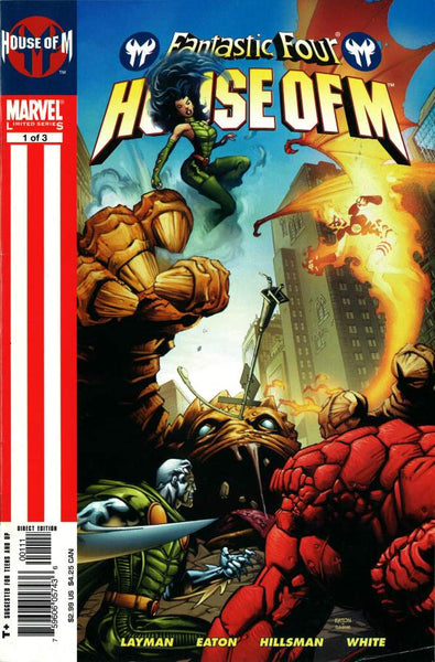 FANTASTIC FOUR HOUSE OF M #1