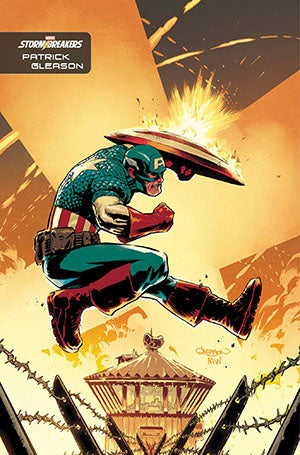 CAPTAIN AMERICA VOL 9 #27 GLEASON STORMBREAKERS VAR