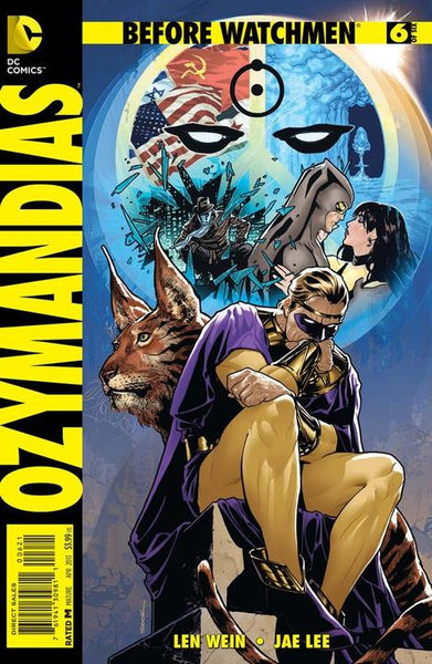 BEFORE WATCHMEN OZYMANDIAS #6 VAR ED - Kings Comics