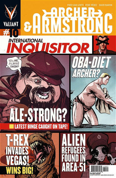 ARCHER & ARMSTRONG VOL 2 #10 PULLBOX DOE