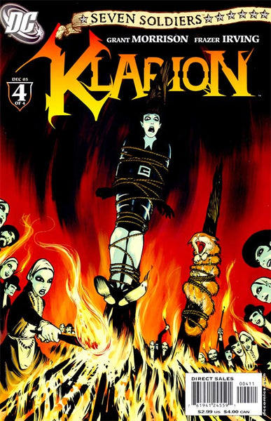 SEVEN SOLDIERS KLARION THE WITCH BOY #4