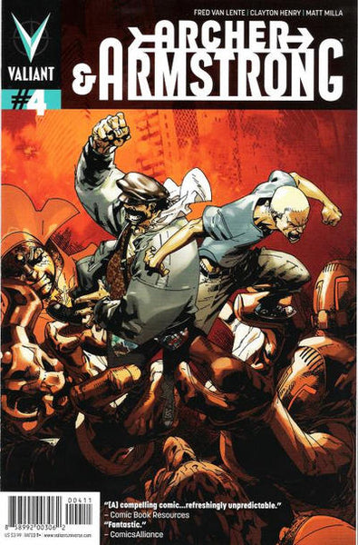 ARCHER & ARMSTRONG VOL 2 #4 - Kings Comics