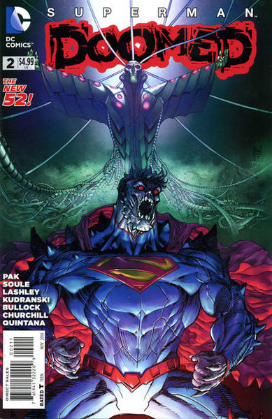 SUPERMAN DOOMED #2